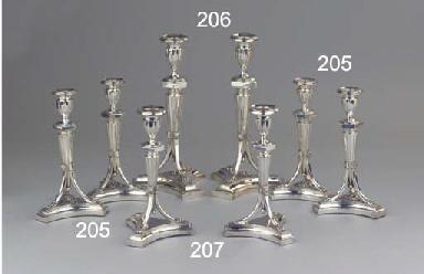 (4)  A fine set of four Dutch