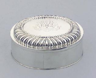 A German silver toiletbox