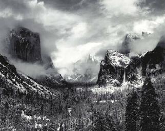 Clearing Winter Storm, Yosemit