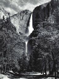Yosemite Falls, circa 1950s
