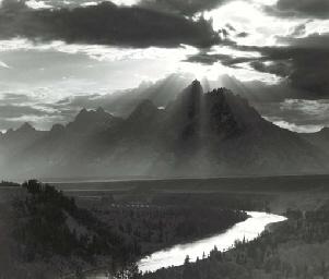 Grand Tetons, Wyoming, 1959