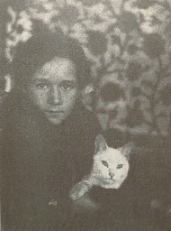 Untitled (Young boy with cat),