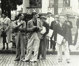 Street scene, circa 1936