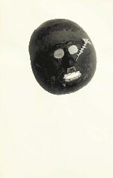Icelandic Mask Collage, 1920s
