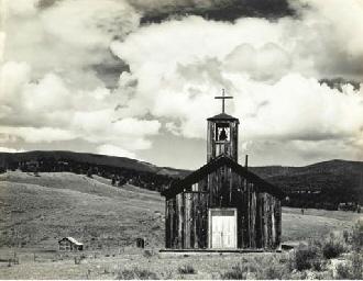 'E' Town, New Mexico, 1933
