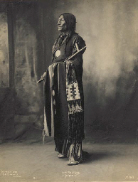 Chief Wolf Robe, Cheyenne; Clo