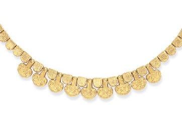 A GOLD NECKLACE, BY ILIAS LALA
