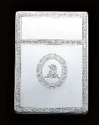 A GEORGE III SILVER SNUFF-BOX