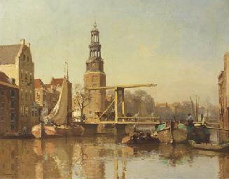 A view of the Montelbaanstoren