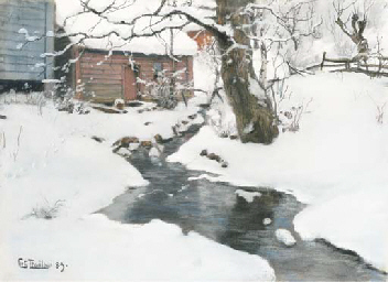 Winter on the Isle of Stord