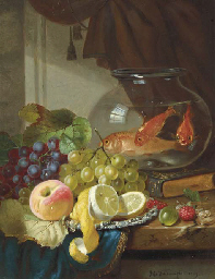 Still Life with Fruit and Gold