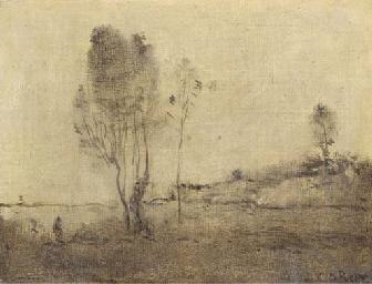L'Etang aux deux arbres