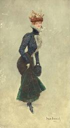 Une jeune Parisienne