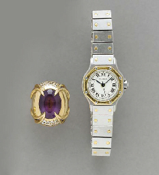 **A GROUP OF GEM-SET, GOLD AND