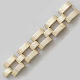 A RETRO 14K GOLD BRACELET, BY