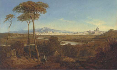 A view of the Roman campagna