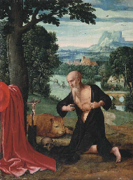 The Penitent Saint Jerome in a
