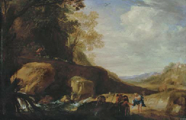 Landscape with Mercury, Argus