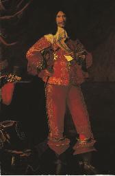 Portrait of a nobleman, full-l