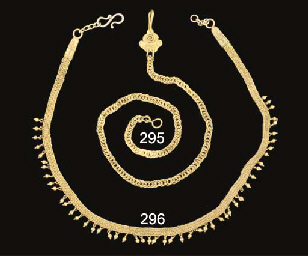 A ROMANO-EGYPTIAN GOLD CHAIN