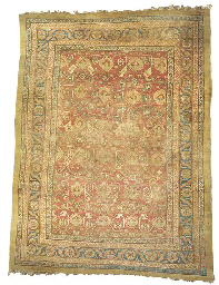 An Antique Bakshaish carpet