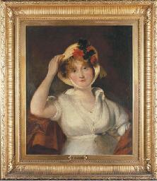 Portrait of Queen Caroline (da