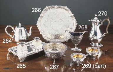 A George V Silver Sugar Bowl