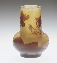 A CAMEO GLASS VASE