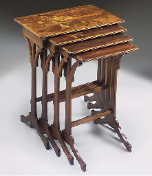A ROSEWOOD AND BEECHWOOD NEST