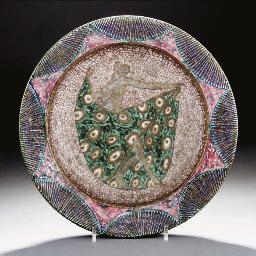A stoneware bowl