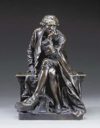 A French bronze reduction of t