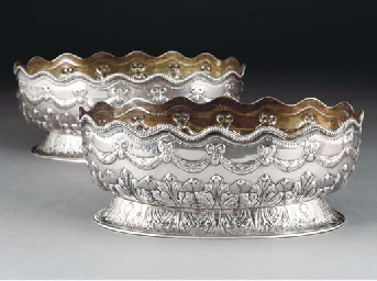 A Pair of Victorian Silver Bow