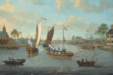 The river Amstel, looking towa