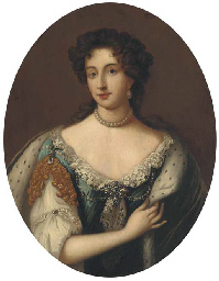 Portrait of Queen Mary II as P