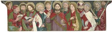 Christ amongst the Apostles