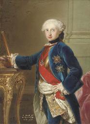 Portrait of King Charles III o