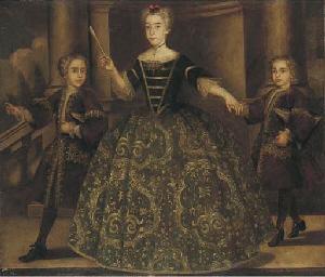 Portrait of Donna Maria de Mon