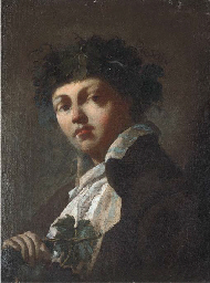 Portrait of a young man as Bac