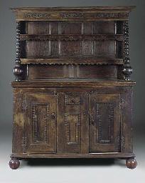 A Victorian oak dresser