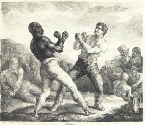 Boxeurs (Delteil 10; Rouen 9)