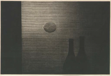 Bottles and Walnut (M. Gall. 7