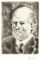 Portrait de Vollard, III, Plat