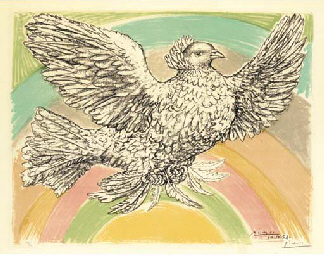 Colombe volant (B. 712; not in