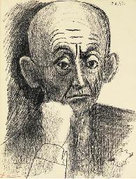 Portrait de D.H. Kahnweiler, I