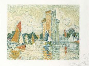 Le Port de la Rochelle, by Jac