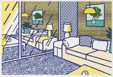 Blue Floor, from Interior Seri