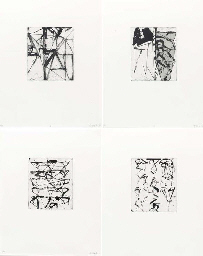 Etchings to Rexroth (Lewison 4