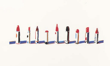 Lipstick Rows, from Seven Stil