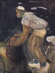 Tukang Becak (Becak driver)