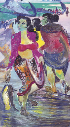 Women with fish